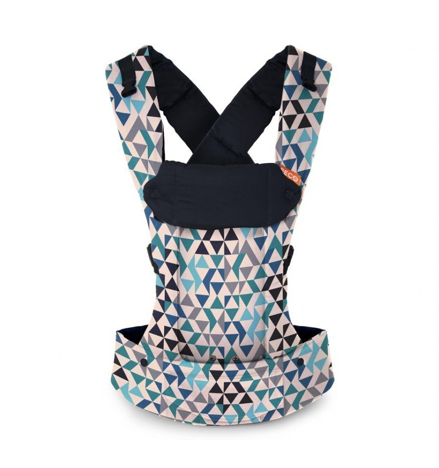Beco Gemini Carrier Geometric Teal Blue Online Babymaxi Com