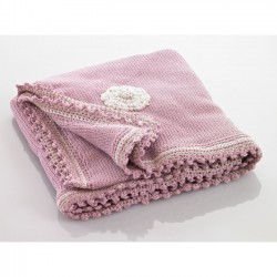 Pebble baby blanket Pink