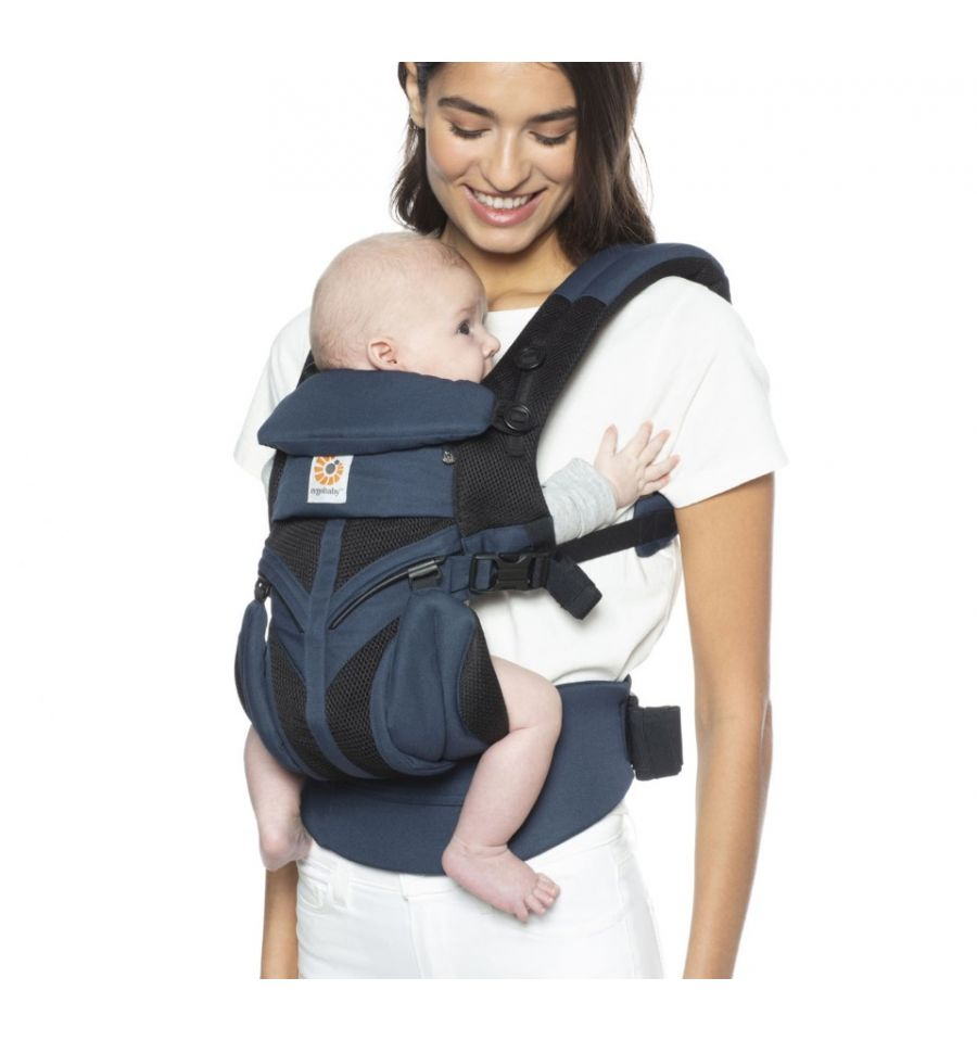 Ergobaby Omni 360 Cool Air Mesh Carrier Raven Hot Weather