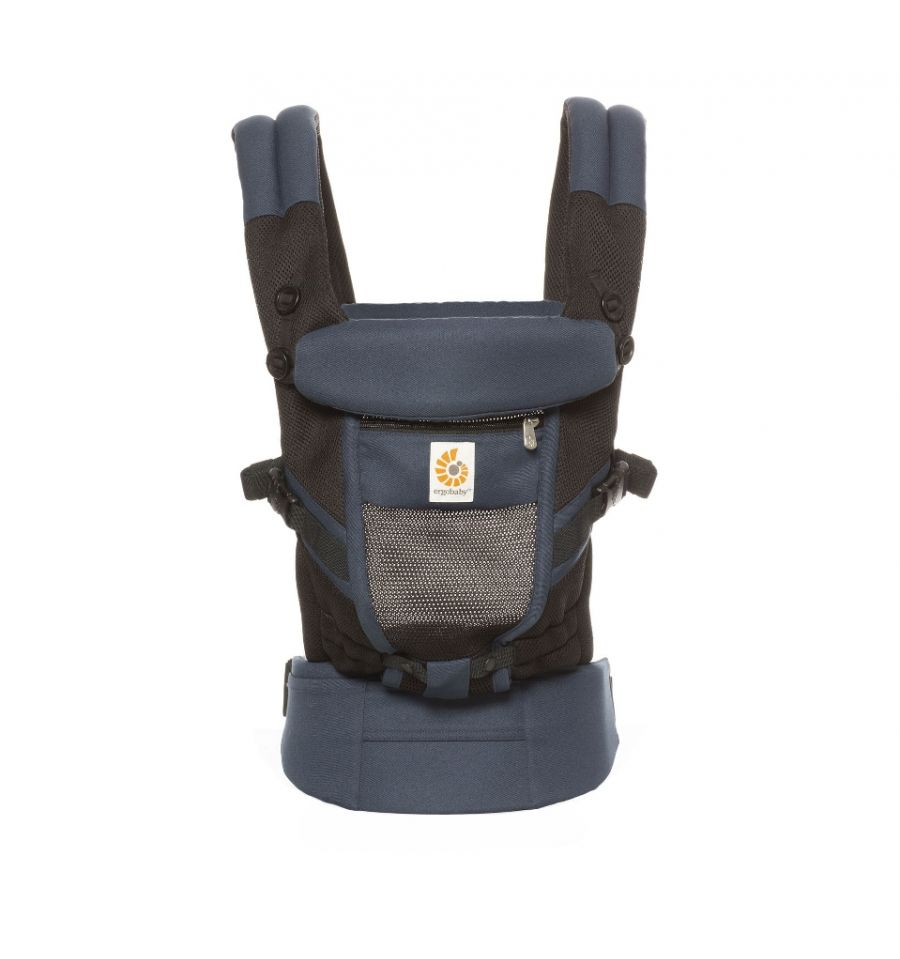 Babycarrier Ergobaby Adapt Cool Air Mesh Raven For Warm