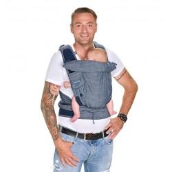 Bondolino Plus One Size Denim Babycarrier