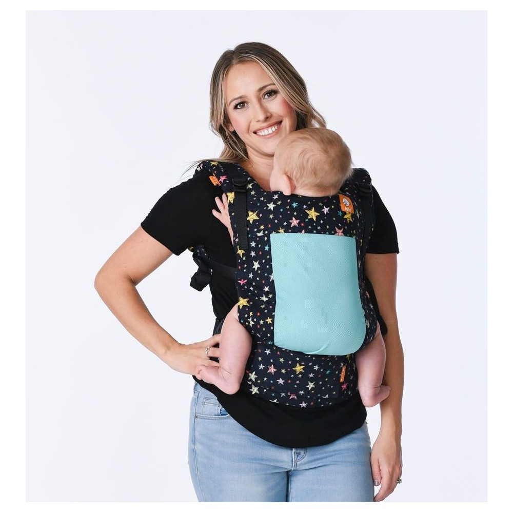 3d217024e32 Tula Toddler Carrier Coast Rainbow Stars for warm wheather
