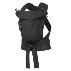 Bondolino Plus One Size Popeline Black Babycarrier