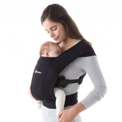 Ergobaby Embrace Pure Black babycarrier