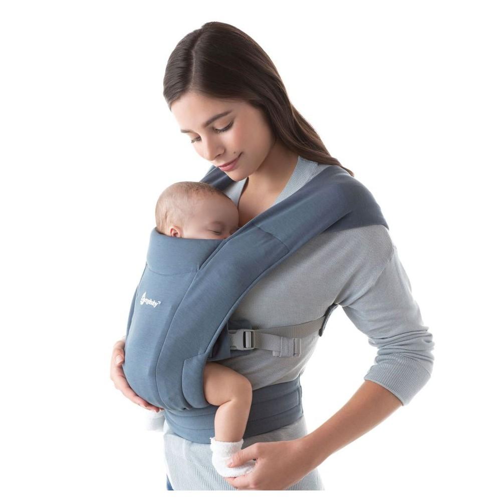 Ergobaby Embrace Oxford Blue babycarrier