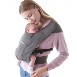 Ergobaby Embrace Heather Grey babycarrier