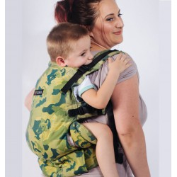 Isara The One Wolf Family babycarrier
