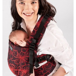 Isara The One Bloom in Noir babycarrier - limited edition