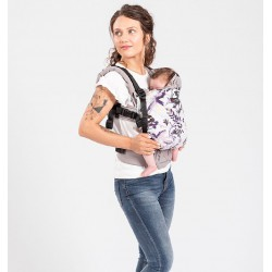 Isara The One Royal Orchid babycarrier - canvas collection