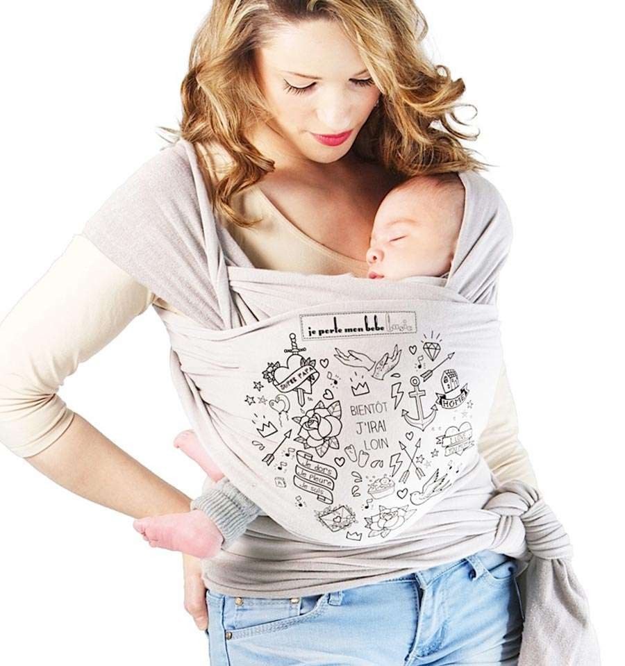 23def9949b3 ... Basic Je Porte Mon Bebe Basic Tattoo Pearl. Reduced price! Display all  pictures