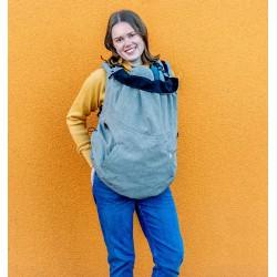 MaM Ultra Plus 2 in 1 Flex Cover - Heather Grey-Black
