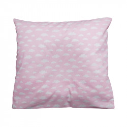BabyDorm Pillow Case Pink Sky front