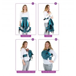 Easy Emeibaby Carrier Forest Petrol - Baby