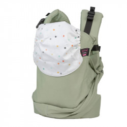 Easy Emeibaby Carrier Full Patinagreen Dots