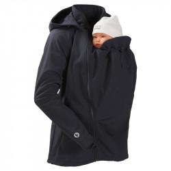 Mamalila Softshell Babywearing Jacket clickit - black
