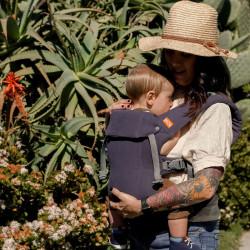 Beco Gemini Blue Linen - babycarrier