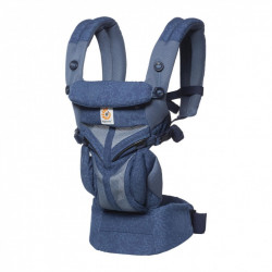 Ergobaby Omni 360 Cool Air Blue Blooms - babycarrier