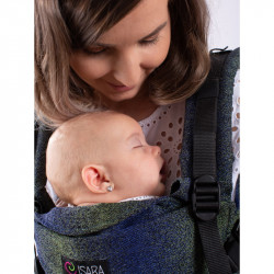 Isara The One Pixelated Blue Planet babycarrier
