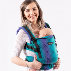 Isara The One Diamonda Northern Lights babycarrier