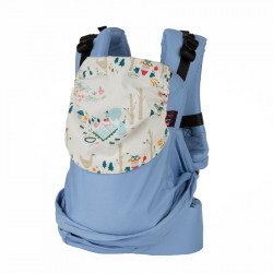 Easy Emeibaby Carrier Full Bright Blue Party