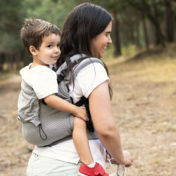 Neko Switch Grey Diamond Toddler carrier