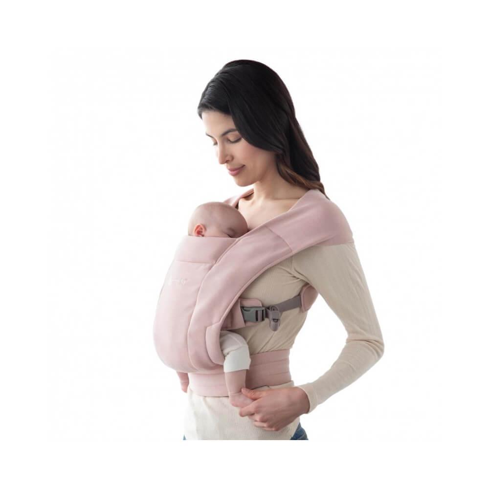 Ergobaby Embrace Blush Pink babycarrier