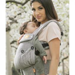 Tula Linen Explore Ash - babycarrier