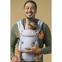 Tula Linen Explore Rain - babycarrier