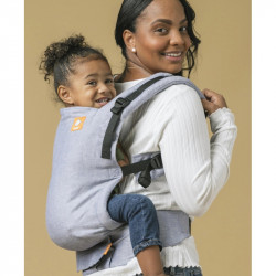 Tula Linen Free to Grow Rain baby carrier