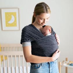 Ergobaby Aura Baby Wrap Twinkle Grey