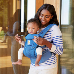Ergobaby Omni Breeze Sapphire Blue - baby carrier