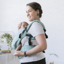 Tula Linen Free to Grow Reef babycarrier