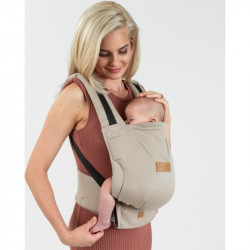 Isara Quick Full Buckle Caffe Latte babycarrier