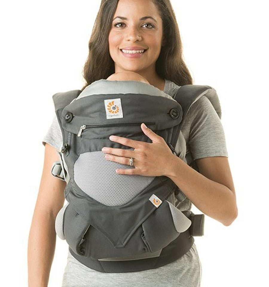 688332e8676 Ergobaby 360 Carrier Cool Air Carbon Grey