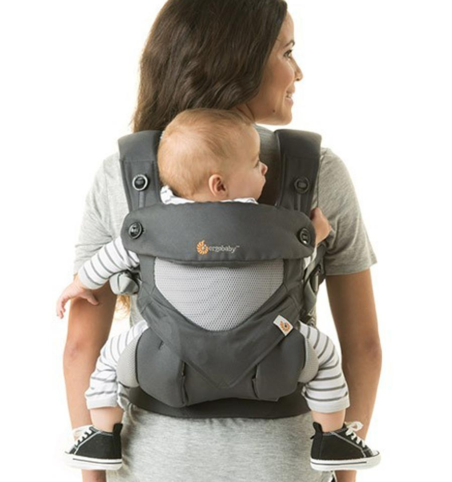 Ergobaby 360 Carrier Cool Air Carbon Grey Babymaxi Com