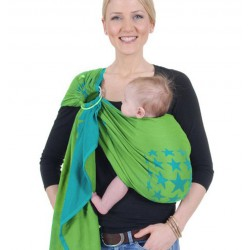 HOPPEDIZ Ring Sling New York Turquoise