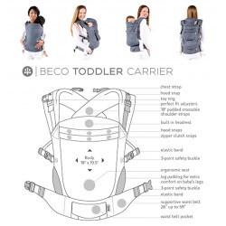 Beco Toddler Carrier Metro Black