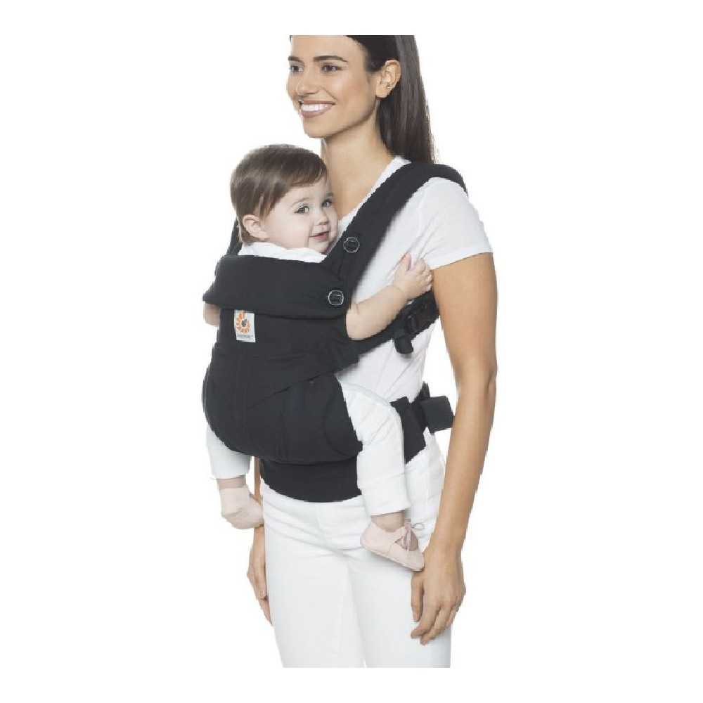 22fbbe6ef1b Ergobaby 360 Sunrise Four Position Carrier Pure Black