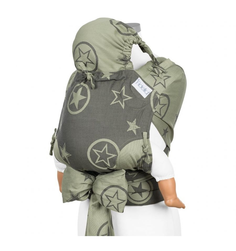 8eeef212980 ... Size Fidella Fly Tai Mei Tai Outer Space Reed Green - Baby size.  Reduced price! Previous. Next