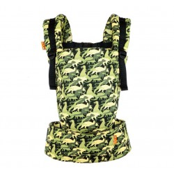 Tula Free to Grow Carrier Camosaur - Limited Edition