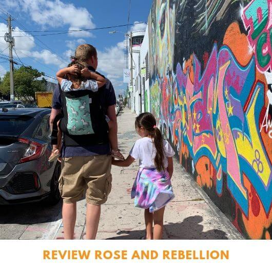 Review Rose and Rebellion draagzak